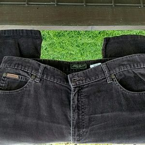 Women's corduroy pants Sz 14 long